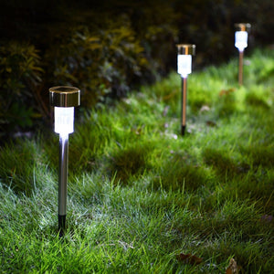 Waterproof LED Solar Landscape Lighting For Outdoor