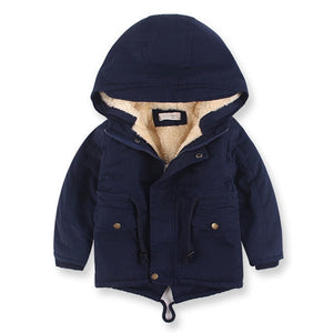 Winter Baby Boys Denim Jackets