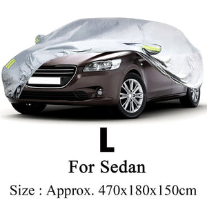 Waterproof Anti Dust Snow Resistant Sun UV Outdoor Full Car Covers