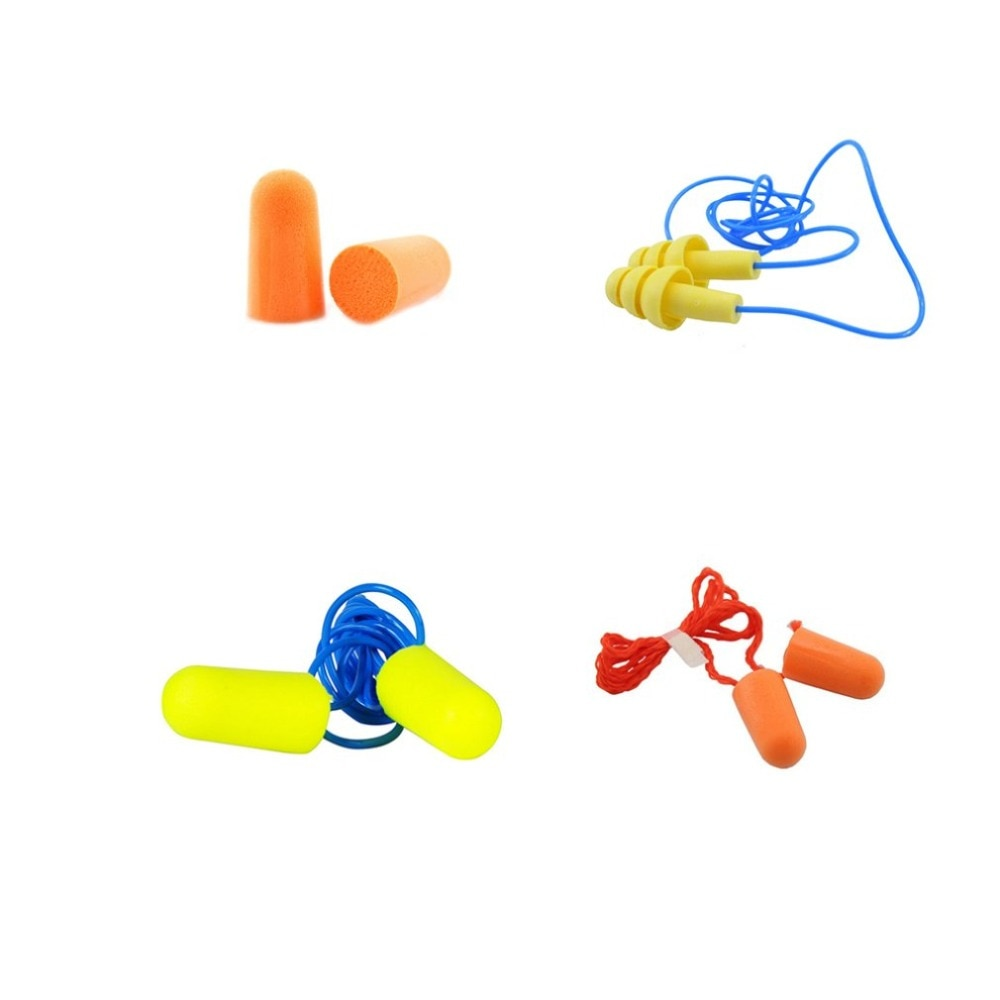 10 Pairs/set Soft Foam Anti Noise Ear Plugs