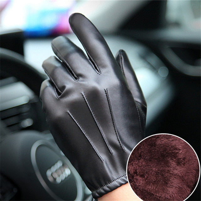 Anti-Slip Windproof Cycling Running Winter Thermal Touchscreen Fleece Gloves