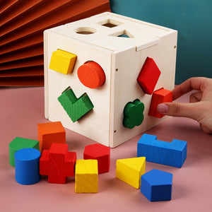 Wooden Building Blocks Education Toys for Kids