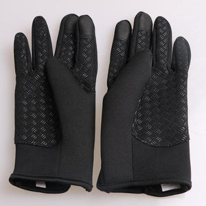 1 Pair Bike Bicycle Full Finger Touchscreen Gloves For Men & Women