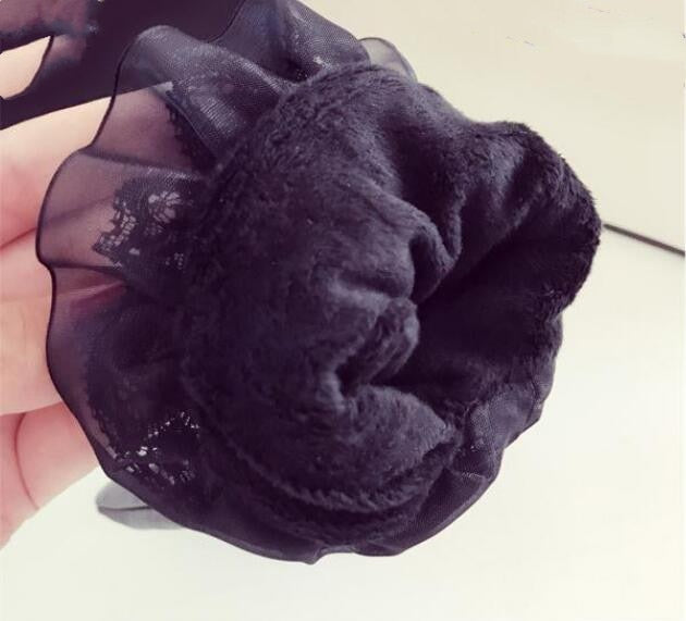 Autumn Winter Thicken Warm PU Leather Touchscreen Gloves for Female
