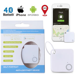 New Smart Key Finder Mini Bluetooth GPS Tracker Device