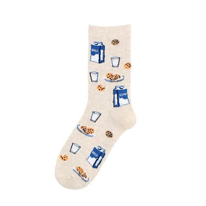 Creative Hedgehog Dog Breakfast Egg Cute Socks