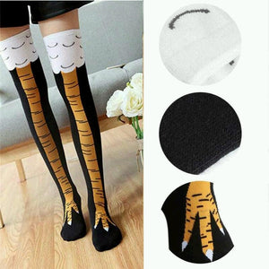 High Novelty 40cm 3D Fitness Animal Cartoon Socks for Men & Women