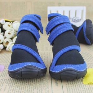 Waterproof Anti-Slip Warm Snow Reflective Rain Boots for Small Medium Large Pet Dogs