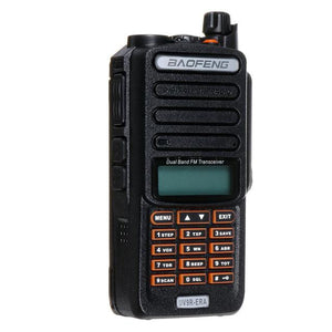 Professional UV9R-ERA 128 Channel 4800mah 10W VHF UHF Handheld Two Way Radio Walkie Talkie