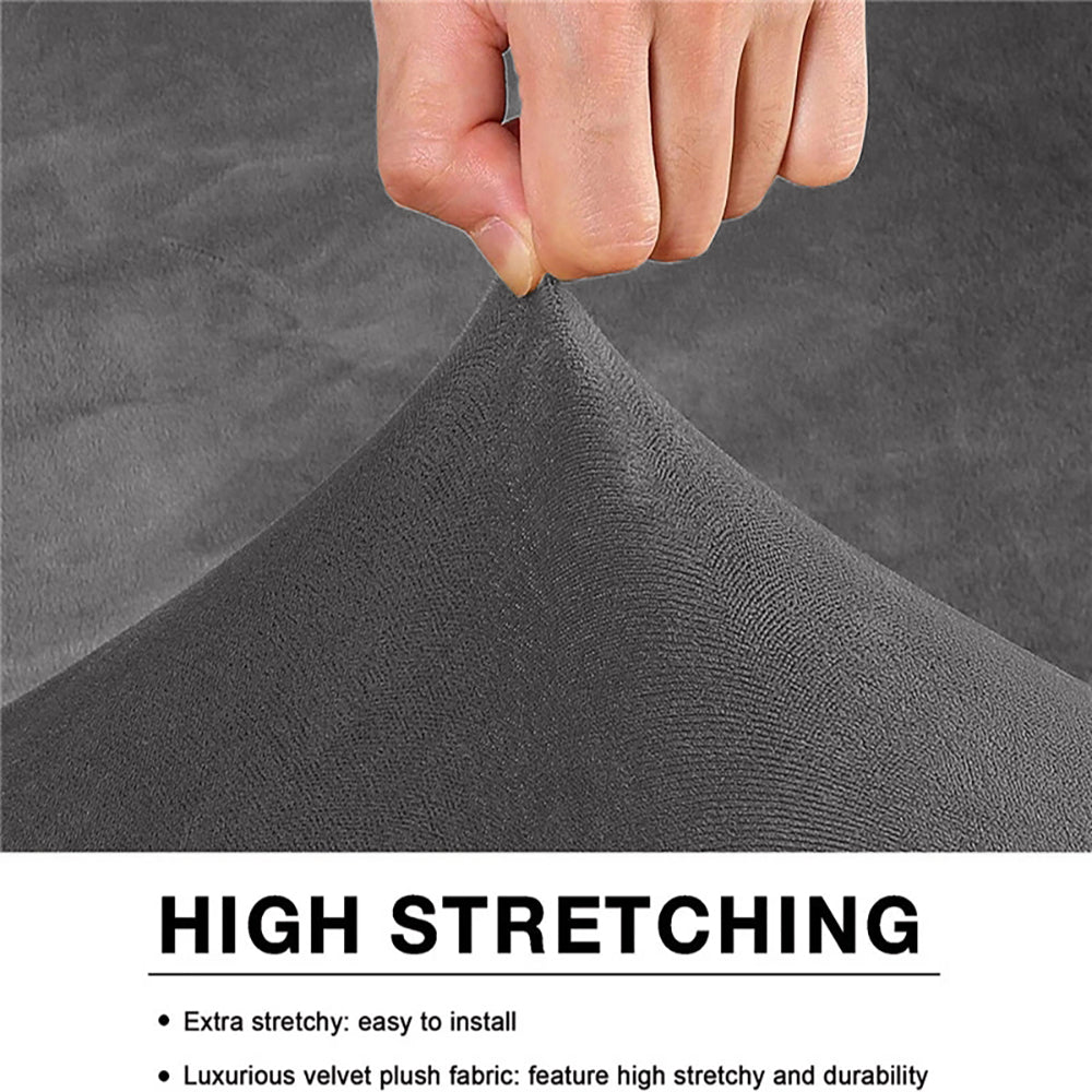 1 pc Dust-proof Elastic Furniture Protector Removable Slipcover