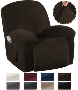 Velvet Stretch Recliner Sofa/Couch Cover