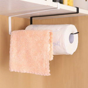 Kitchen Bathroom Toilet Paper Holder Tissue Storage Organizers Racks Roll Paper Holder Hanging Towel Stand Home Decoration