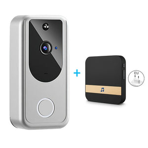 Wireless Smart WiFi HD Visual Intercom Night Vision Video Doorbell for Apartments