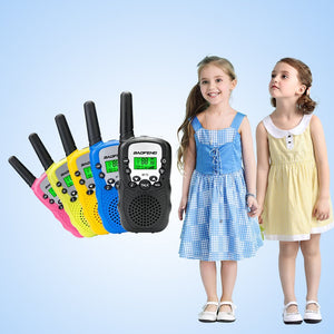 2Pcs/Set Mini Portable Walkie Talkie Children Toys for Outdoor Activities