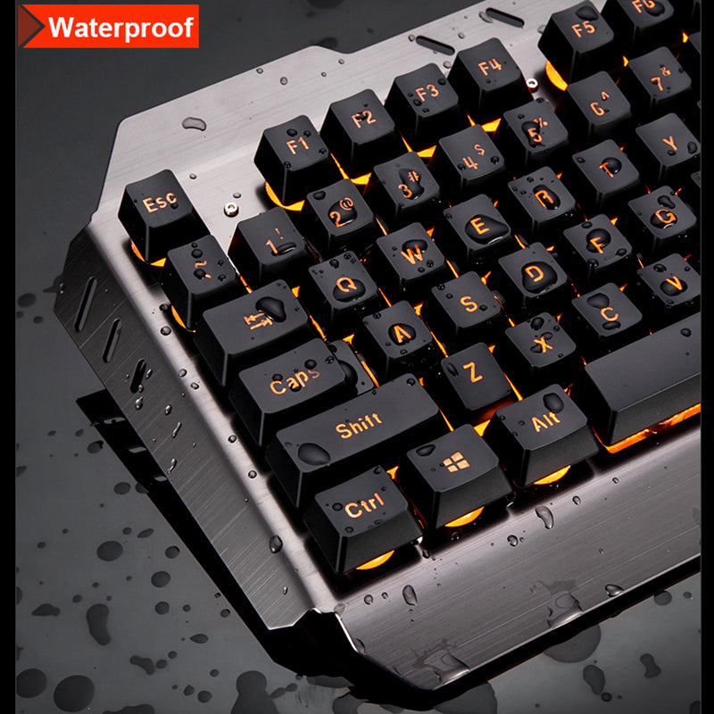 FAST SELLING COMBO OFFER Wired LED Backlit Multimedia USB Gaming Keyboard + Mouse + Mouse Pad