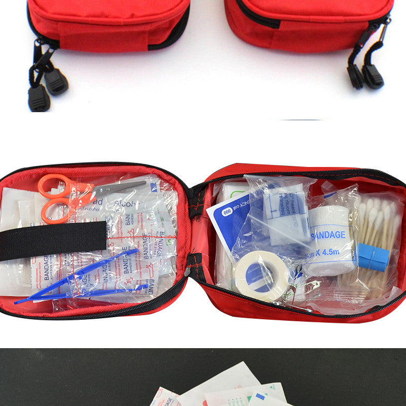 FAST SELLING 120pcs/pack Safe Camping First Aid Kit Box