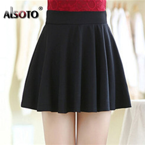 Mini Ball Gown Elastic Skirts