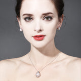 FENASY 925 Sterling Silver Fashionable Necklaces & Pearl Pendants for Women