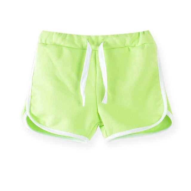 Stylish Candy Color Casual Summer Sport Shorts Pants for Women