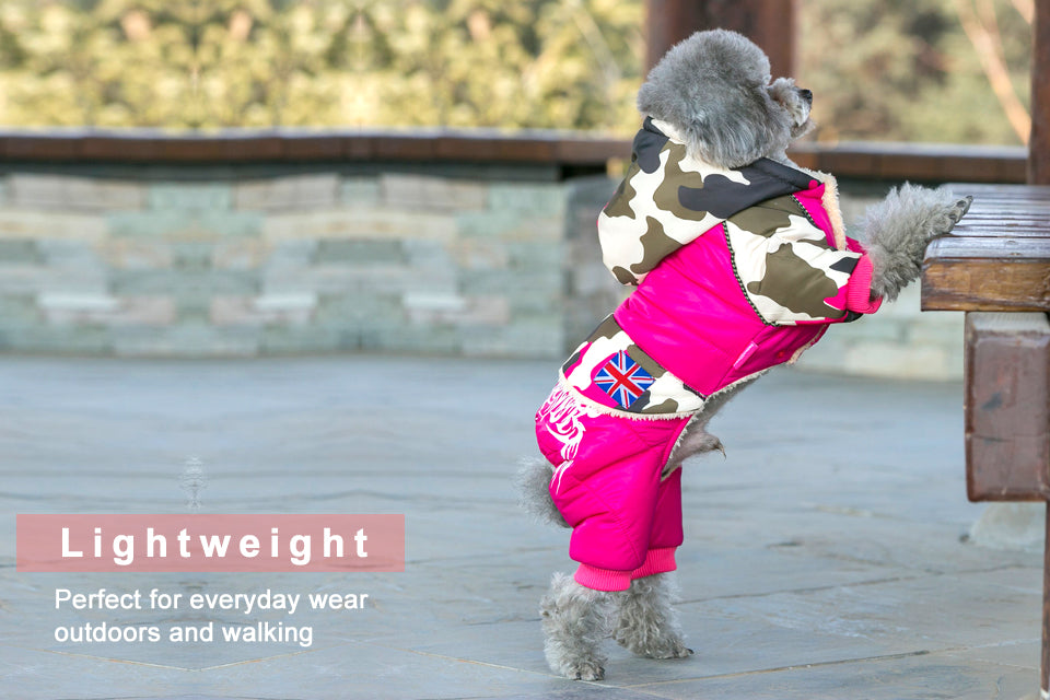 STYLISH Winter Waterproof Jumpsuit for Small, Large & Big Dogs