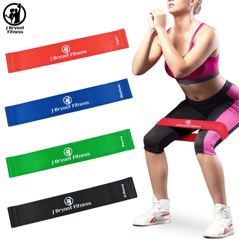 ADVANCED 8-Level Fitness Resistance Gym Cross-fit Rubber Bands