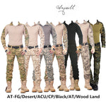 DASHING Tactical Military Cargo Pants with knee pads for Men