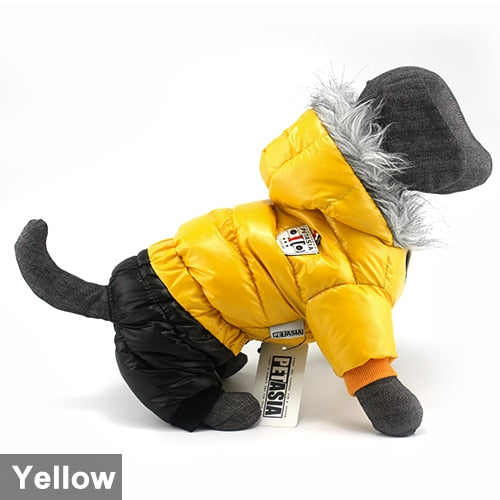 CUTE Winter Waterproof Thicker Cotton Hoodies for Pet Dogs