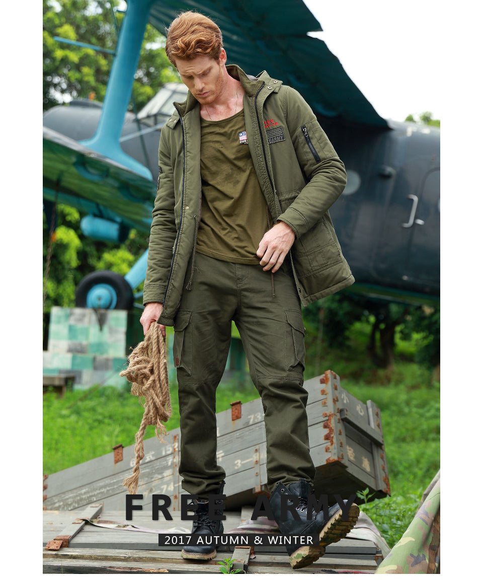 STYLISH Army Military Cargo Pants for Men