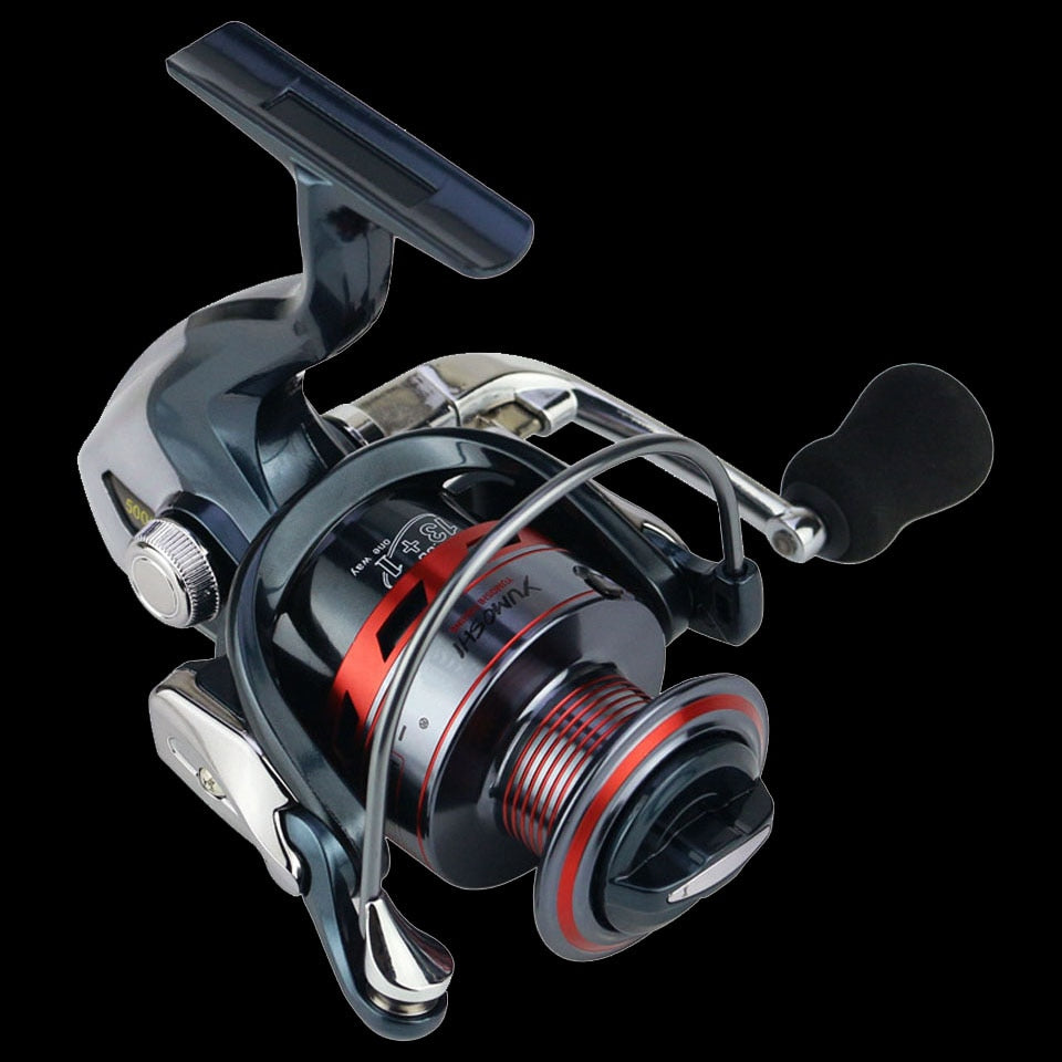 ADVANCED 13+1BB Spinning Fishing Reel Metal XS1000-7000 Series Spinning Reel Fishing Tackle