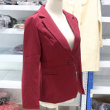 New Fashion Single Button Blazer for Women