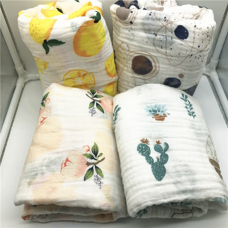TRENDY Muslin Cotton Blanket Wrap for Infant