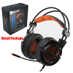 BEST Selling USB 7.1 Simulated Sound Channels LED Gaming Headset with Mic