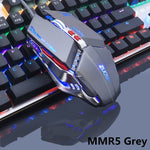 CLASSY Adjustable Wired Optical LED Gaming Mouse for Laptop and PC