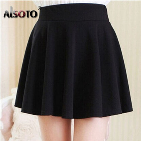 Fashionable Summer Style Sexy Mini Black Skirts