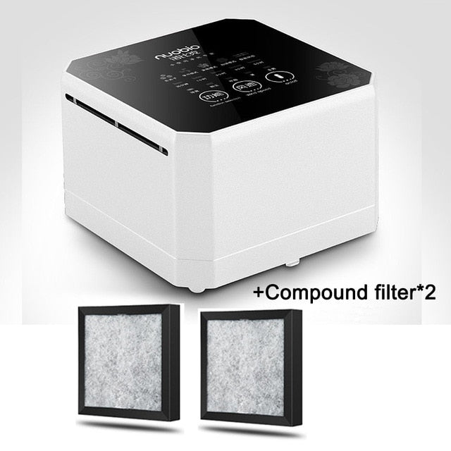 Advanced Technology Negative Ion Generator Compact Air Purifier For Home