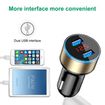 TOP SELLING 3.1 A Dual USB Car Charger for iPhone 6 7 Sumsung Xiaomi