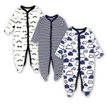 Long sleeve printed Jumpsuits for Newborn Baby