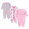 Newborn 0-12 Months Baby Girl/Boy Long sleeve cotton printing Jumpsuits