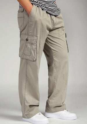 Big & Tall Men's Loose Cargo Pants