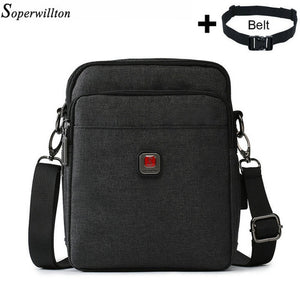 LATEST USB Charging Water-Resistant Shoulder Cross Body Bags for Men