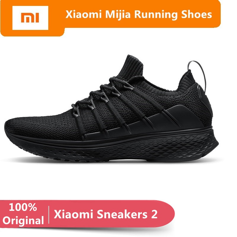 Smart Elastic Knitting Breathable Sports Shoes