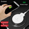 HOT Selling Qi Wireless Charger for iPhone 8 plus, X, Samsung S6, S7 edge, S8 plus