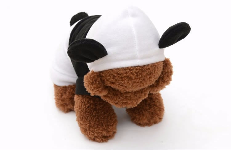 CUTE and ATTRACTIVE Panda Costume Pullover Coats for Pet Dog