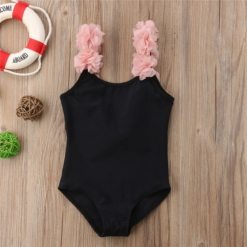 New Designer One Piece Backless Swimsuit for Girls