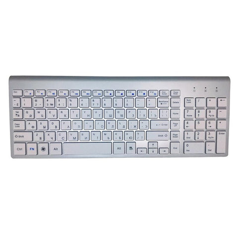 Wireless Russian Keyboard for Computers