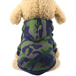 Camouflage Design Clothes for Pet Dog