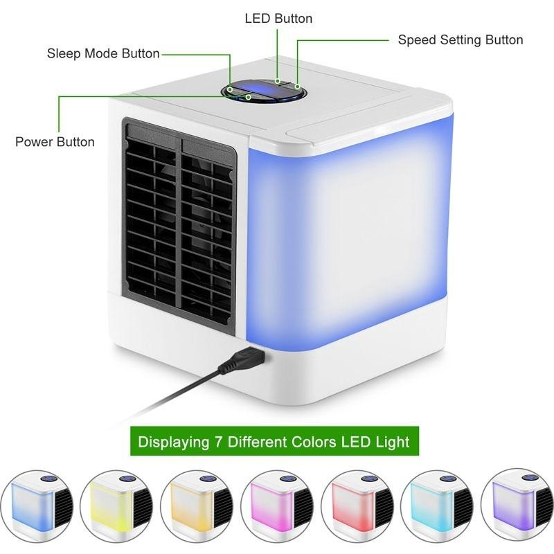 NEXT GEN Portable Mini Air Conditioner The Quick Easy Way to Cool Any Space Home / Office