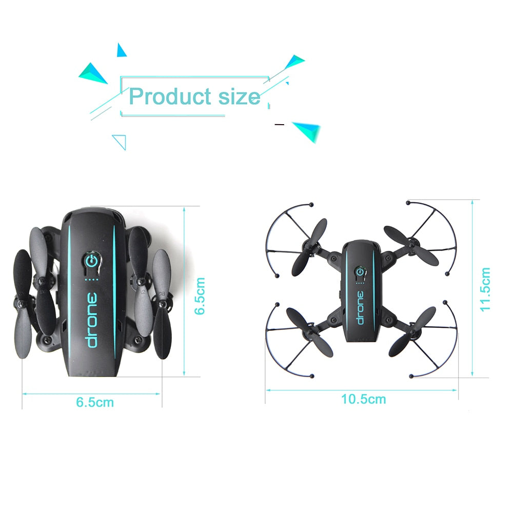 WiFi FPV Foldable Mini RC Drone with Camera