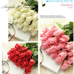 Real Touch Artificial Flowers for Home Decoration