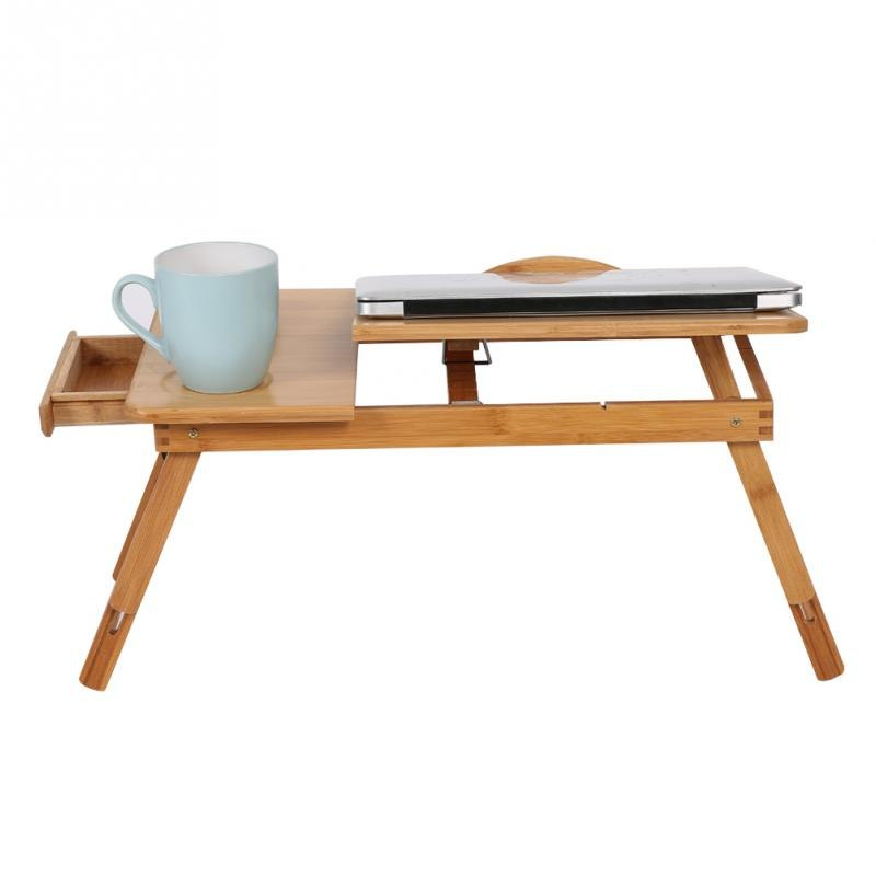 New Folding Bamboo Laptop Desk